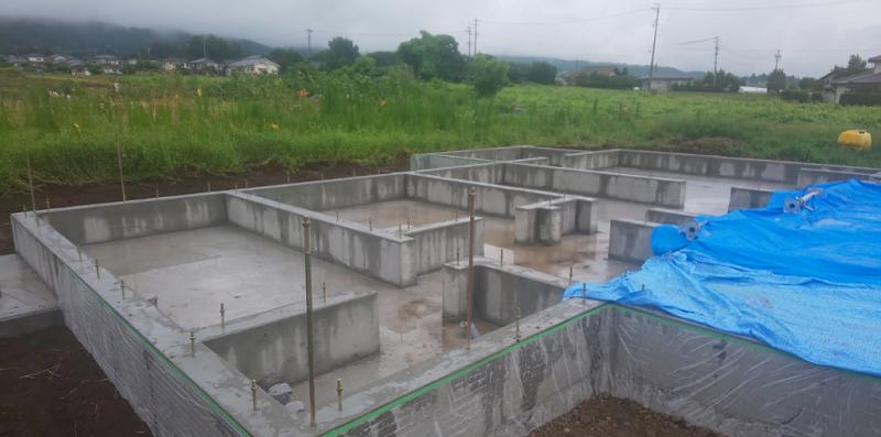 【現場レポート】基礎工事その2 松本市新築