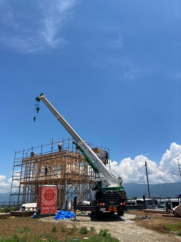 【上棟】朝日村新築工事