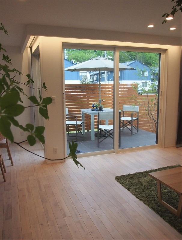 松本市・新築モデルハウス『アウトドアリビング』