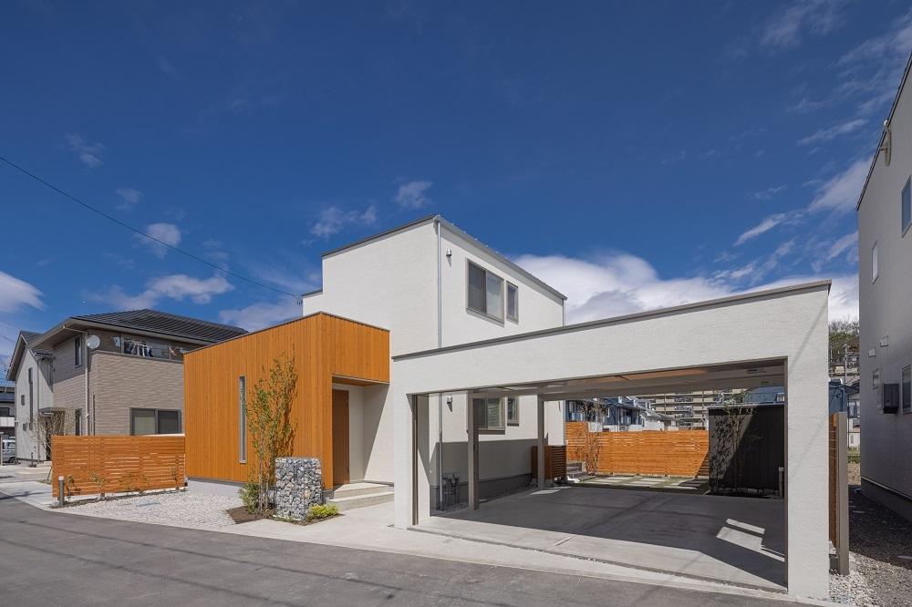 ガーデン工事完了!松本市新築GRAND OPEN!