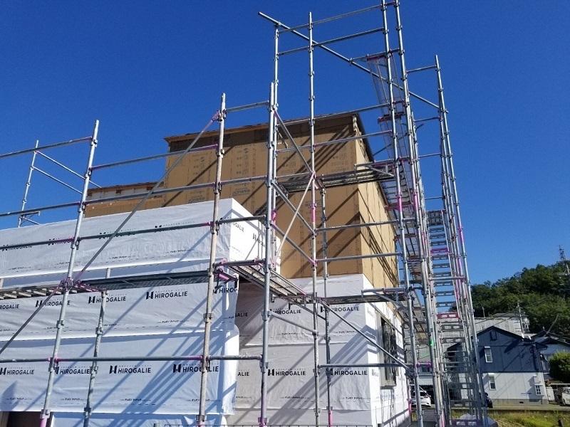 並柳モデルハウスの進捗状況と構造見学のご案内