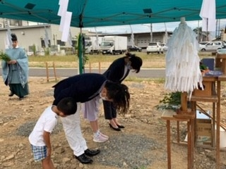 【現場レポート】松本市T様邸新築レポート②~地鎮祭~