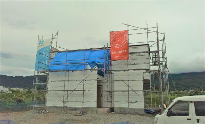 【現場レポート】松本市◇新築工事◇HIROGALIE◇防水処理